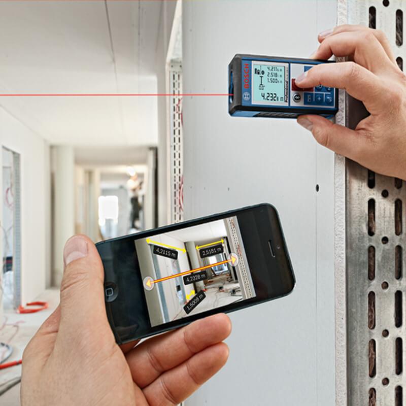 Lưu ý tắt mở máy khi sử dụng máy đo khoảng cách laser cầm tay