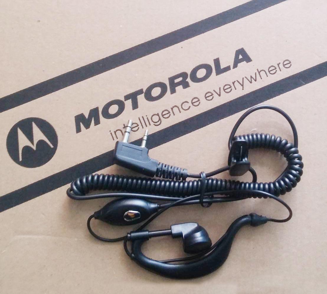 Tai nghe máy bộ đàm Motorola loại xoắn