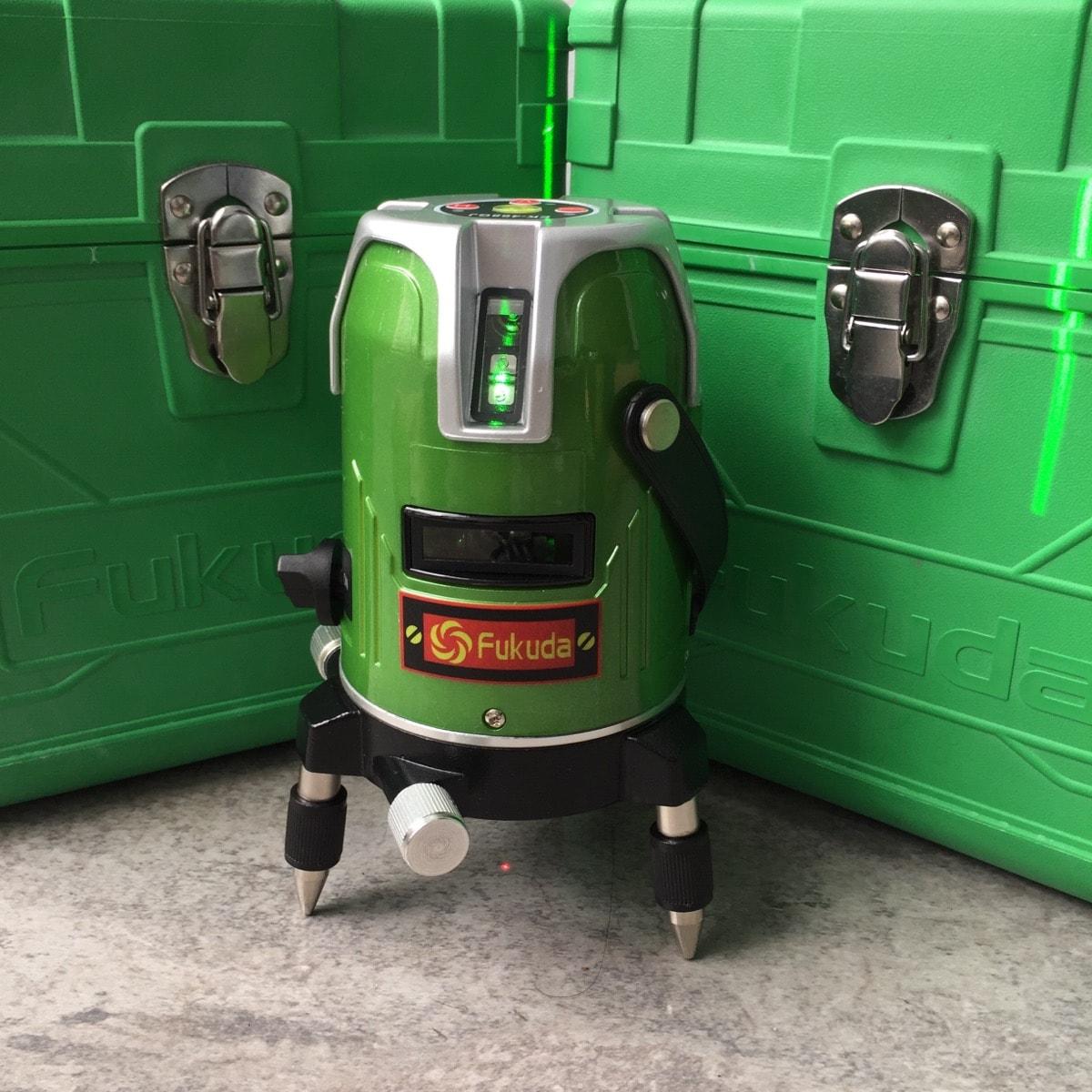 Máy cân bằng laser tia xanh Fukuda EK 468 GJ