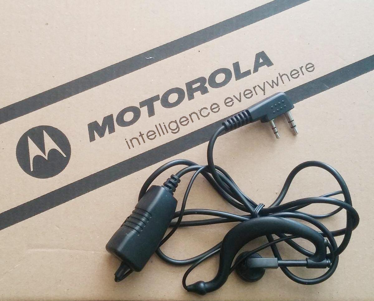 Tai nghe máy bộ đàm Motorola loại thẳng