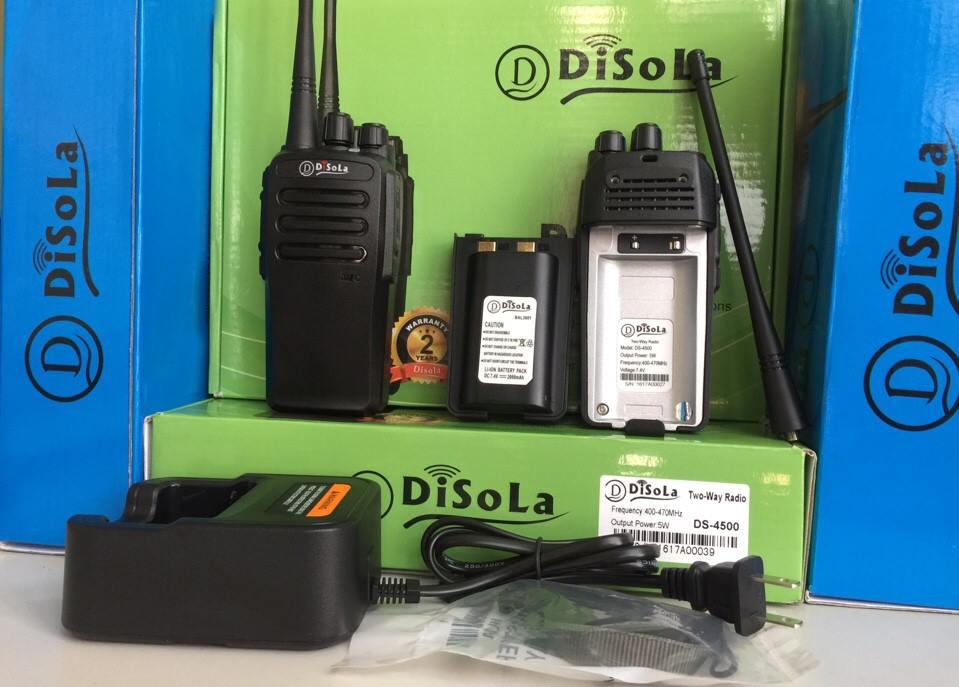 Máy bộ đàm cầm tay Disola DS 4500